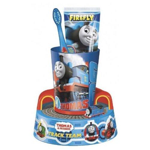 Купить Набор для чистки зубов Firefly Thomas&Friends TF-13 с 3-х лет, 75 мл, синий, Гигиена полости рта