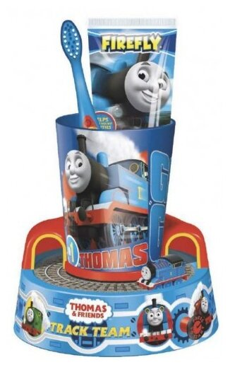 Набор щетка + паста + стакан Dr. Fresh Thomas&Friends TF-13 с 3-х лет