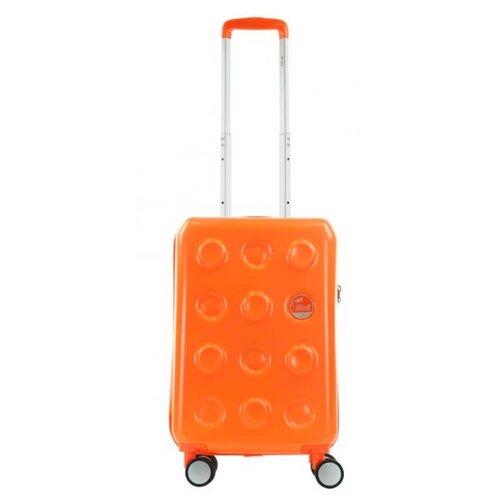Чемодан Alezar Luxury S 44 л, оранжевый