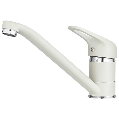 Фото - Смеситель для кухни (мойки) Granula Standart ST-21 однорычажный белый смеситель для кухни мойки granula standart st 31 однорычажный брют