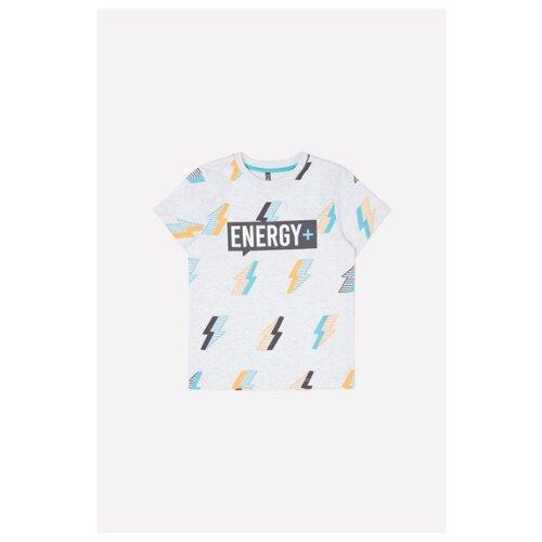Купить Футболка crockid размер 92, светло-серый меланж, Футболки и рубашки