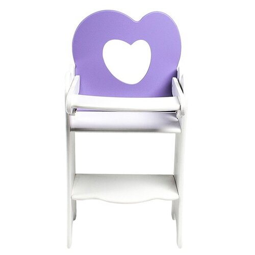 PAREMO Кукольный стульчик для кормления (PFD120) сиреневый paremo кукольный стульчик для кормления мини pfd120m белый