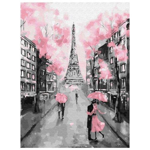 Фото - Картина по номерам Гламурный Париж, 30х40 см цветной картина по номерам белый тигр 30х40 см me1072