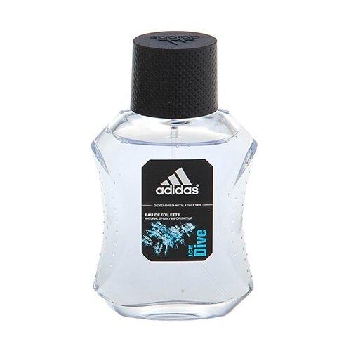 Туалетная вода adidas Ice Dive, 50 мл adidas ice dive туалетная вода для мужчин 100мл