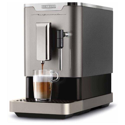 Кофемашина Sencor SES 8020NP серебристый/черный фото