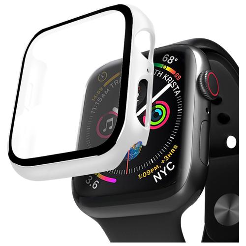 Кейс со стеклом Deppa для Apple Watch 4/5 series 40 мм белый