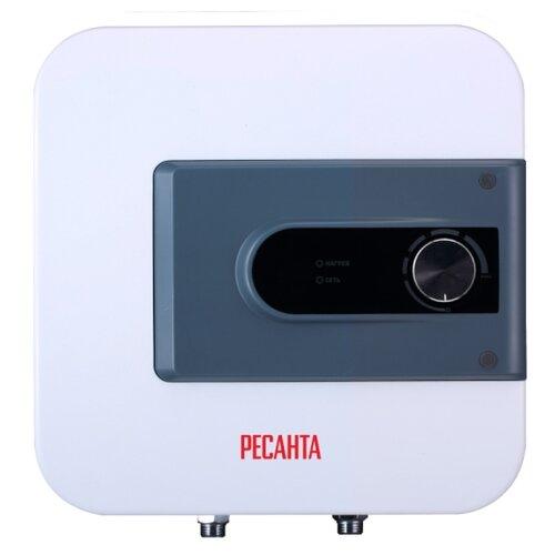 Накопительный электрический водонагреватель РЕСАНТА ВН-15Н, белый