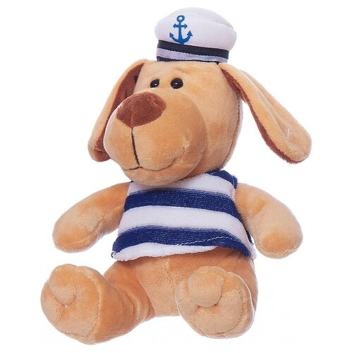 Купить Мягкая игрушка ABtoys Собака морячок 15 см, Мягкие игрушки