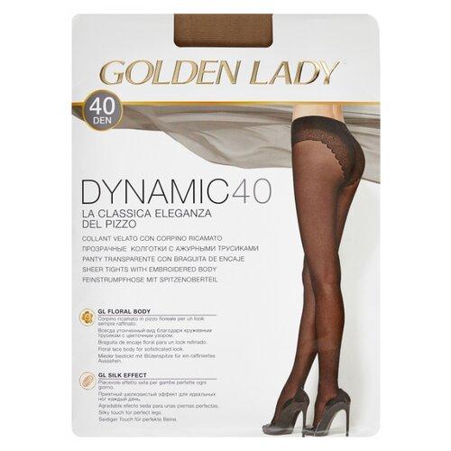 цена Колготки Golden Lady Dynamic 40 den, размер 4-L, melon (бежевый) онлайн в 2017 году