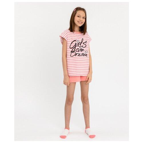 Фото - Пижама Button Blue размер 98-104, розовый сорочка button blue размер 104 110 розовый