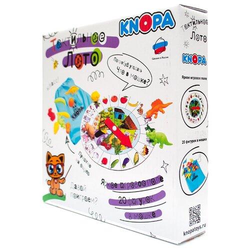 Настольная игра Knopa Тактильное лото