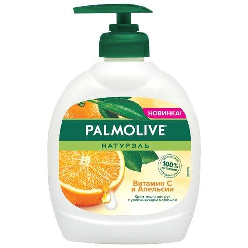 Крем-мыло жидкое Palmolive Натурэль Натурэль Витамин С и апельсин, 300 мл фото