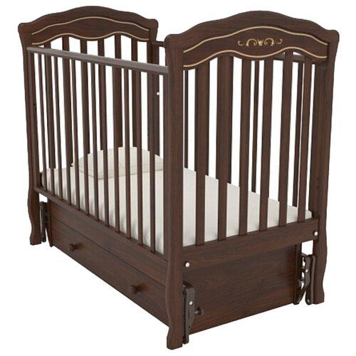 Кровать детская GANDYLYAN К-2003-2м Шарлотта Люкс маятник универсальный (орех) gandylyan кроватка gandylyan дашенька маятник универсальный орех