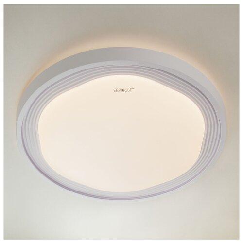 Светильник светодиодный Eurosvet Range 40006/1 LED белый, LED, 70 Вт светильник светодиодный eurosvet range 40005 1 кофе led 54 вт