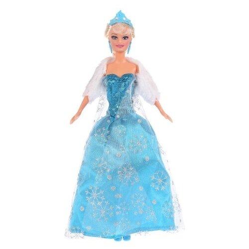 Кукла Карапуз София снежная принцесса, 29 см, 66265-S-BB кукла карапуз герда 29 см снежная королева в голубом платье карапуз