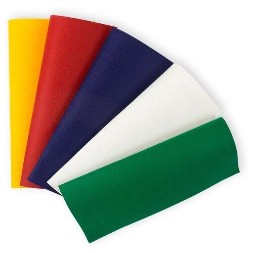Gamma Premium фетр декоративный FKS12-27/30 набор 5 шт. яркий праздник