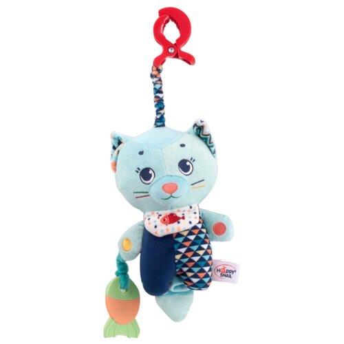 Купить Подвесная игрушка Happy Snail Котик Дарси (19HSС11CT) голубой/синий, Подвески
