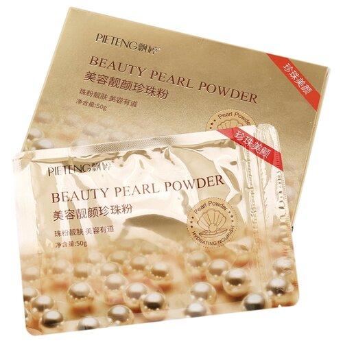 Pieteng Beauty Pearl Powder Омолаживающая маска с жемчужной пудрой, 50 г маска с жемчужной пудрой 20 г steblanc