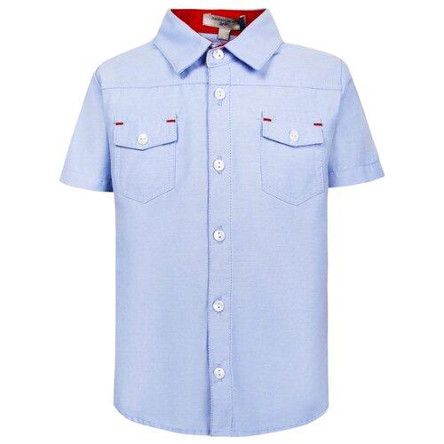Купить Рубашка Silvian Heach размер 68, голубой, Футболки и рубашки