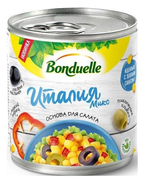 Овощная смесь с кукурузой Италия Микс Bonduelle жестяная банка 310 г 425 мл