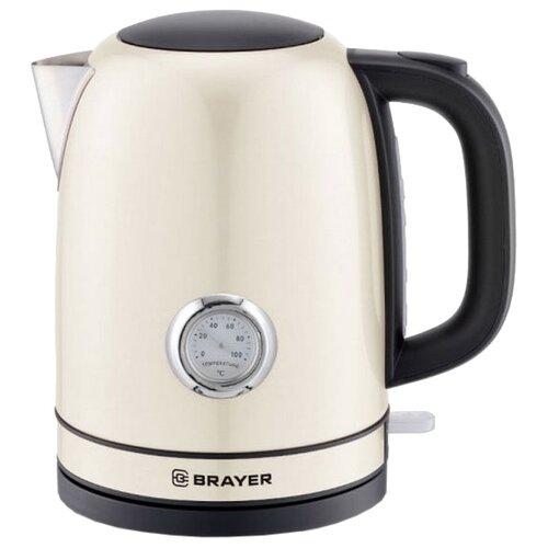 Фото - Чайник BRAYER BR1005, бежевый чайник brayer br1020
