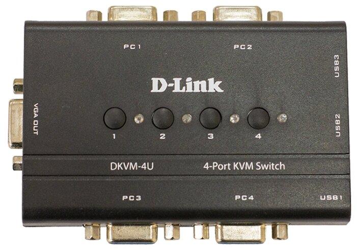 KVM-переключатель D-link DKVM-4U