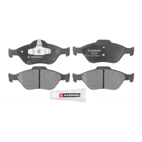 Дисковые тормозные колодки передние Marshall M2623202 для Ford Fiesta, Ford Puma, Mazda 2, Ford Fusion (4 шт.)