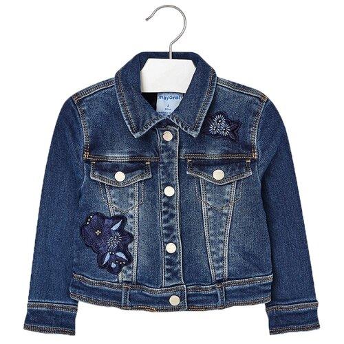Купить Куртка Mayoral 4492 размер 134, 026 синий, Куртки и пуховики