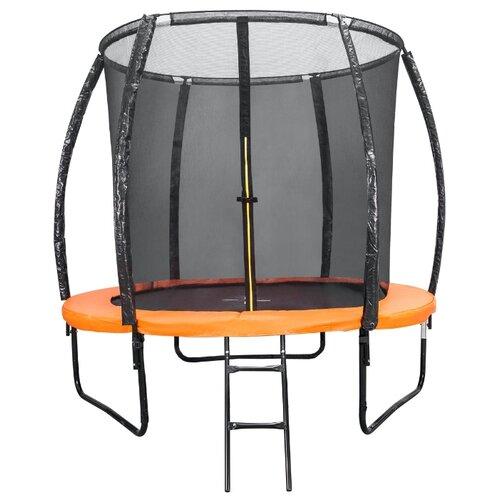 Каркасный батут DFC Kengoo 5FT-BAS-BO с лестницей оранжевый