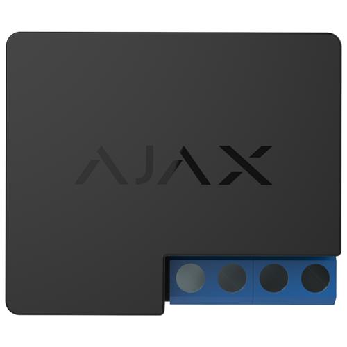 Ajax Relay Black - Беспроводное реле с сухим контактом 12В