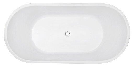 Ванна отдельностоящая Abber AB9203-1.6 акрил — купить по выгодной цене на Яндекс.Маркете