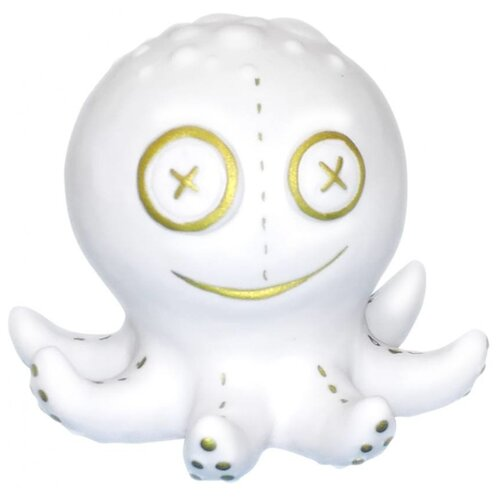 Купить Игрушка для ванной Inseense Осьминожек белый, Игрушки для ванной