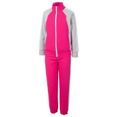 Купить Спортивный костюм M&D размер 140, розовый, Спортивные костюмы