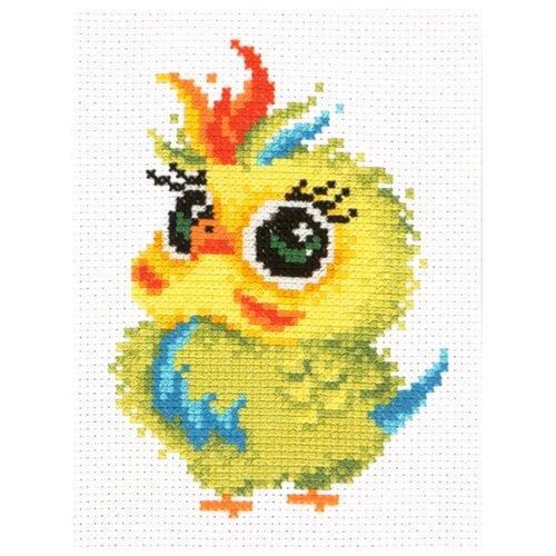 Купить Чудесная Игла Набор для вышивания Попугайчик 11 х 16 см (10-31), Наборы для вышивания