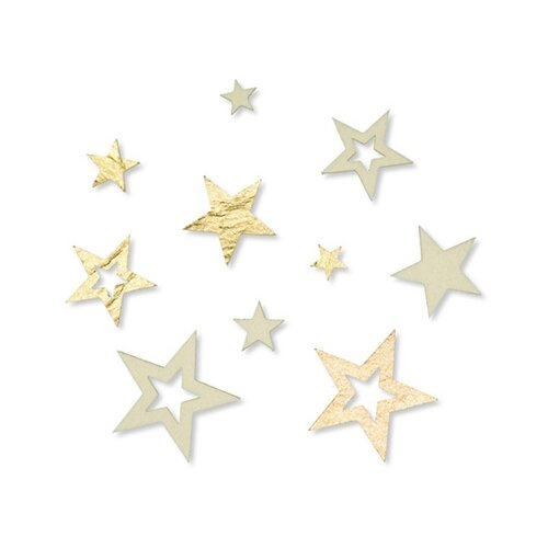 Набор декоративных элементов Звездочки 100% полиэстр (фетр) 3431002