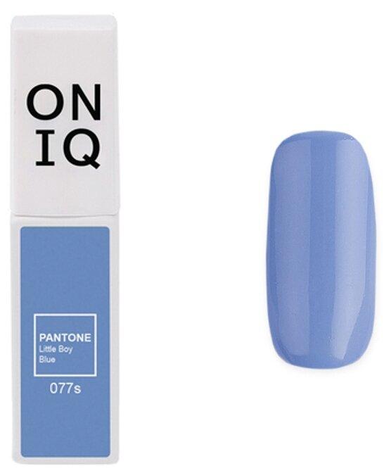 Купить Гель-лак для ногтей ONIQ Pantone, 6 мл, оттенок 077S Little Boy Blue по низкой цене с доставкой из Яндекс.Маркета (бывший Беру)