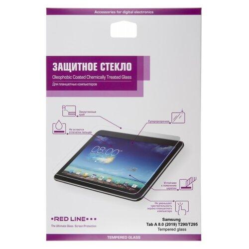 Купить Защитное стекло Red Line Tempered glass для Samsung Tab A 8.0 (2019) T290/T295 прозрачный