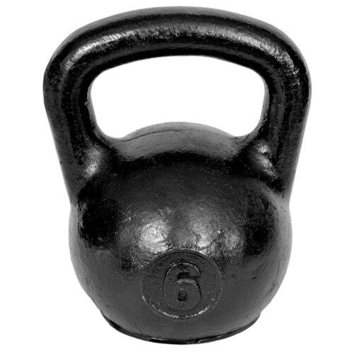 Гиря цельнолитая TITAN уральская 6 кг