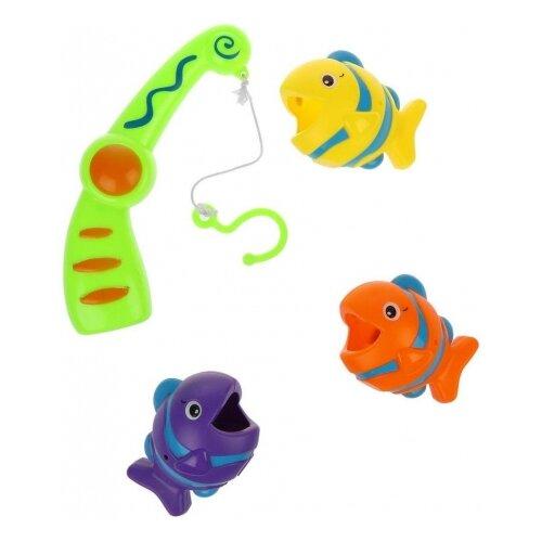 Фото - Рыбалка Наша игрушка Q211-G желтый/зеленый/оранжевый/фиолетовый интерактивная игрушка наша игрушка рыбалка от 3 лет синий m7203