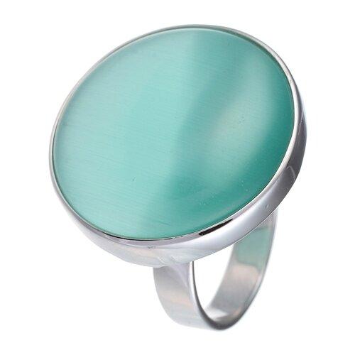 цена на JV Кольцо с ювелирным стеклом из серебра B3198-US-002-WG, размер 17.5