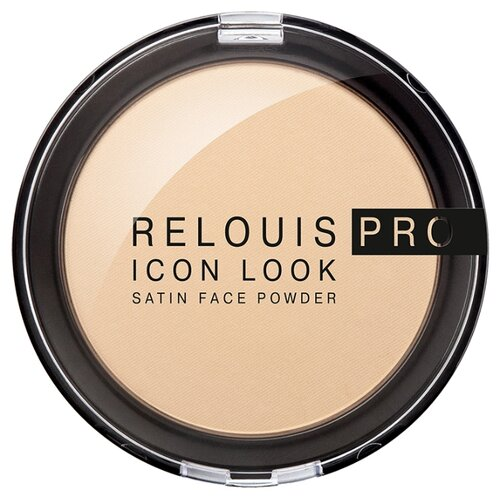 Relouis Пудра компактная Pro Icon Look Satin Face Powder 01
