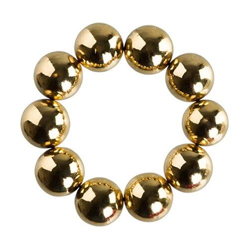 Набор магнитных шариков для дизайна ногтей 10 шт. (№2) Irisk Professional золотистый
