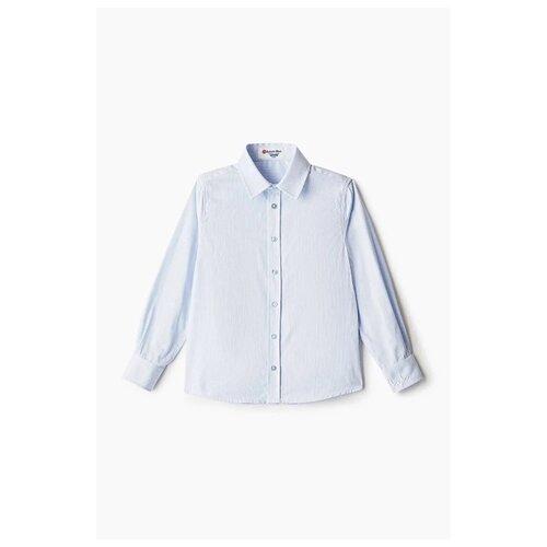 Купить Рубашка Button Blue размер 164, голубой, Рубашки