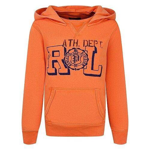 Купить Худи Ralph Lauren размер 122, оранжевый, Толстовки