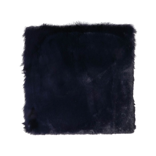 Мех искусственный Арт Узор для творчества 1200 г/м, 30х30 см темно-синий