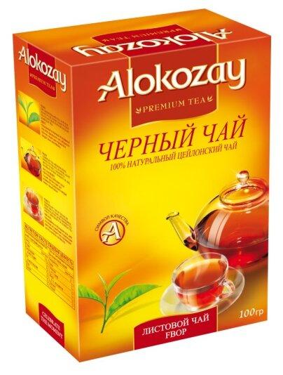 Чай черный Alokozay FBOP — купить по выгодной цене на Яндекс.Маркете