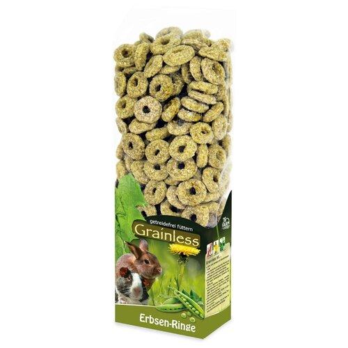 JR FARM 12727 Grainless Лакомство для грызунов беззерновое Гороховые колечки 150г jr farm 04886 зеленые колечки 500г
