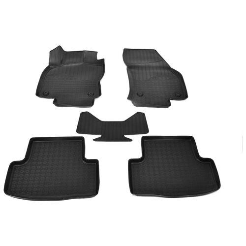 Комплект ковриков NorPlast NPA11-C81-220 Skoda Karoq 5 шт. черный