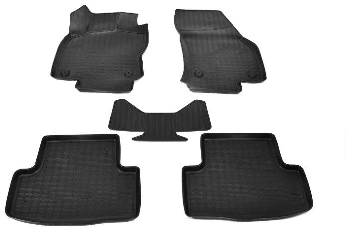 Комплект ковриков NorPlast NPA11-C81-220 Skoda Karoq 5 шт. — купить по выгодной цене на Яндекс.Маркете
