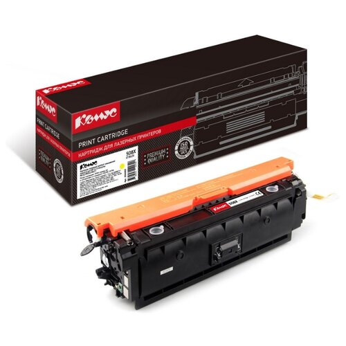 Фото - Картридж лазерный Комус 508X CF362X для HP CLJ M252/M277 картридж hp cf402a для hp clj pro m252 m277 желтый
